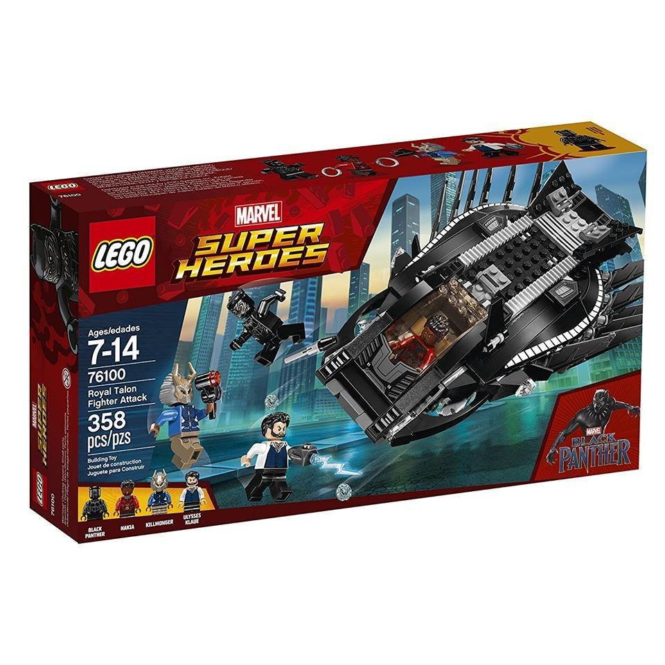 LEGO Black Panther Royal Talon Figther Attack