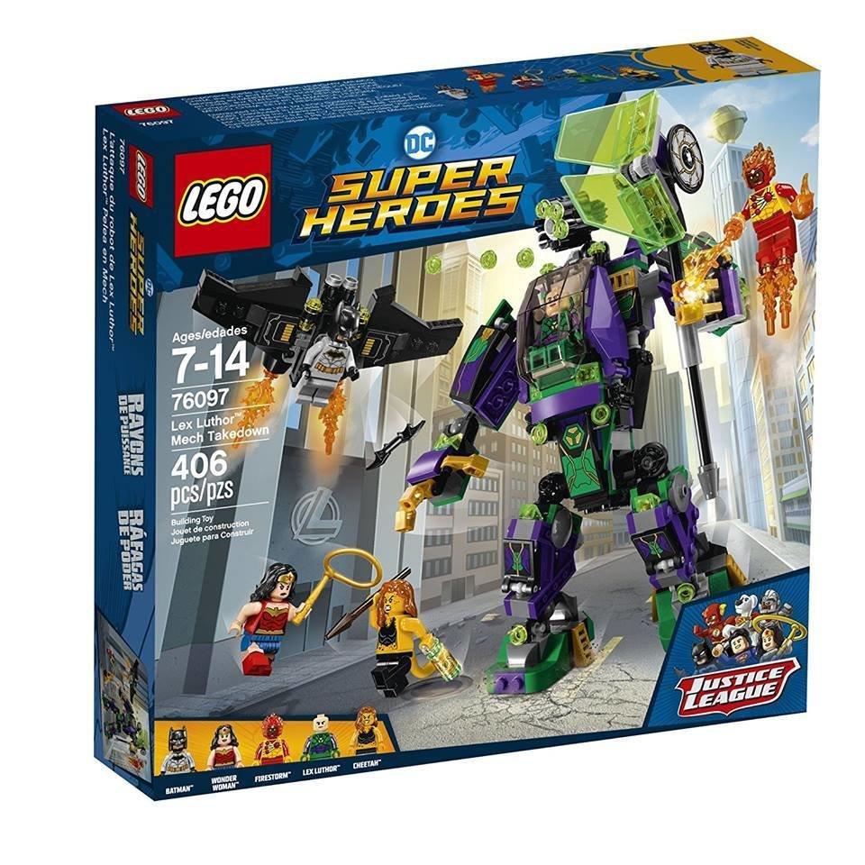 LEGO DC Super Heroes Justice League Lex Luthor Mech Takedown