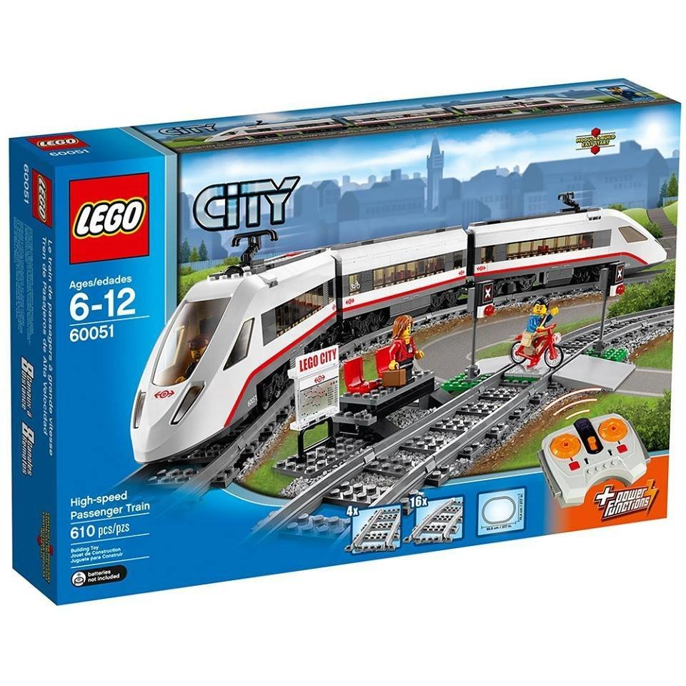 LEGO High Speed Passenger Train