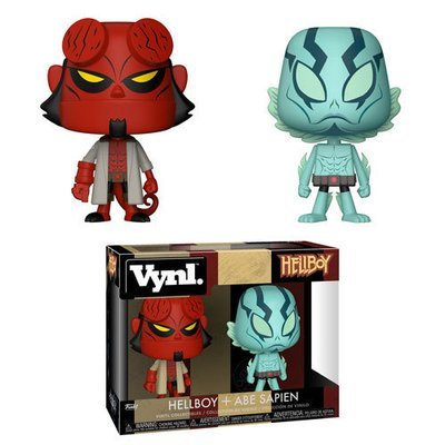 Hellboy - Hellboy and Abe Sapien 2-pack VYNL Figure