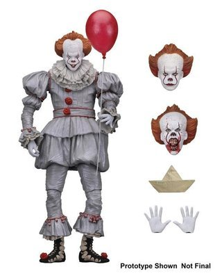PRE-ORDER It (2017) Ultimate Pennywise Figure