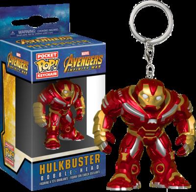 Avengers 3: Infinity War - Hulkbuster Pocket Pop! Vinyl Keychain