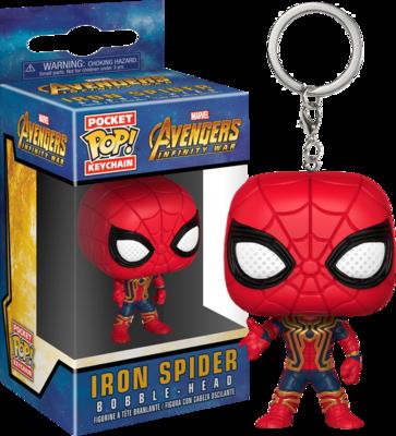 Avengers 3: Infinity War - Iron Spider Pocket Pop! Vinyl Keychain