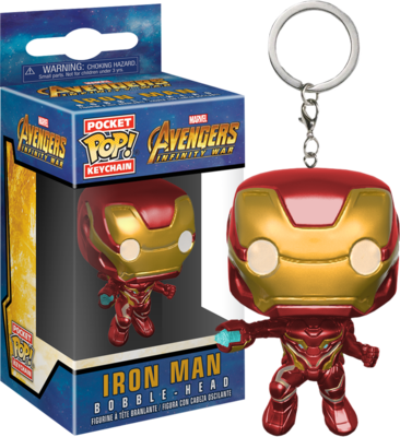 Avengers 3: Infinity War - Iron-man Pocket Pop! Vinyl Keychain