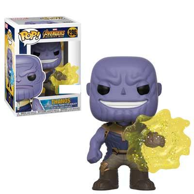 Avengers 3 : Infinity War Thanos Energy Burst Exclusive Pop! Vinyl Figure