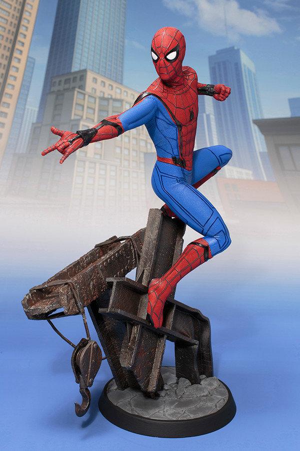 Spider-man Homecoming Move Spider-man ArtFX Statue