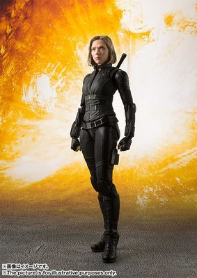 PRE-ORDER S.H.Figuarts Black Widow (Avengers: Infinity War) Action Figure
