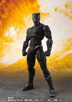 PRE-ORDER S.H.Figuarts Black Panther (Avengers: Infinity War) Action Figure