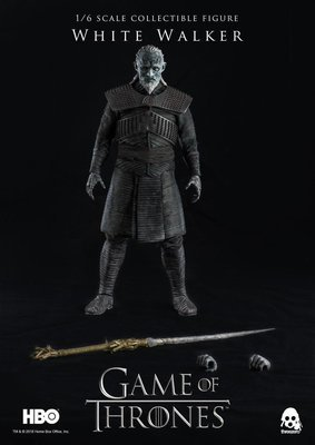 PRE-ORDER Game of Thrones White Walker 1/6th Scale Collectible Figure
