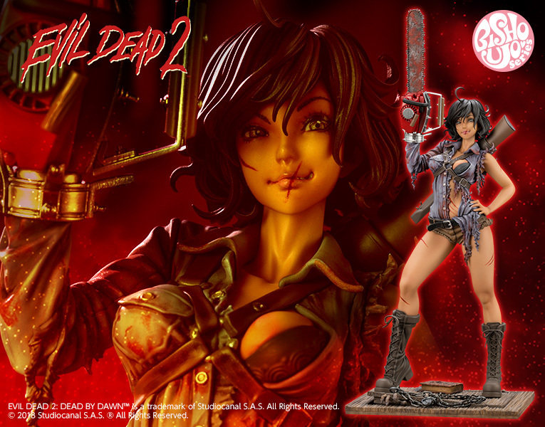 PRE-ORDER Horror Bishoujo Ash Williams 1/7 PVC Figure