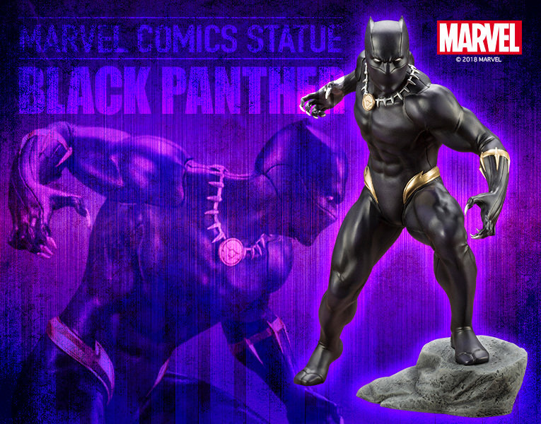 PRE-ORDER ARTFX+ Black Panther 1/10 PVC Figure