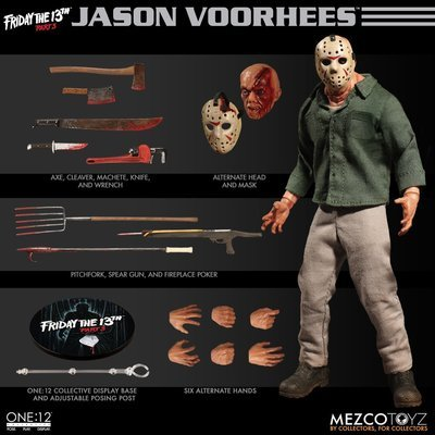 PRE-ORDER One: 12 Collective Friday the 13th Part 3 Jason Voorhees
