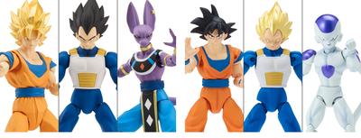 PRE-ORDER Dragon Ball Super Dragon Stars Figure Complete Set of 6 with Shenron Build a Figure