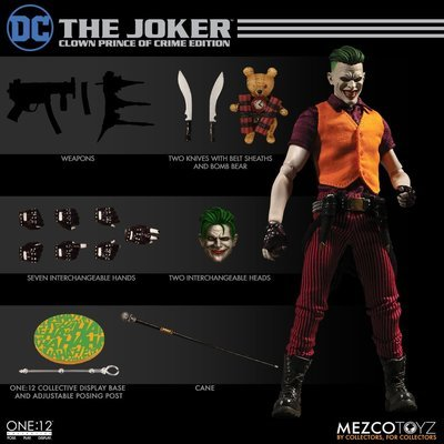 PRE-ORDER One : 12 Collective The Joker: Clown Prince of Crime Edition