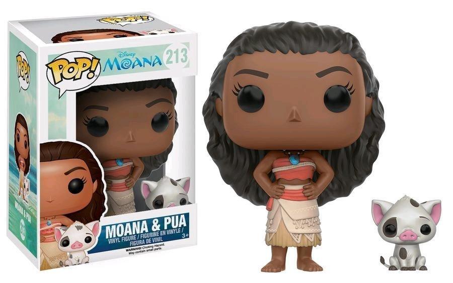 PRE-ORDER POP Disney: Moana - Moana & Pua