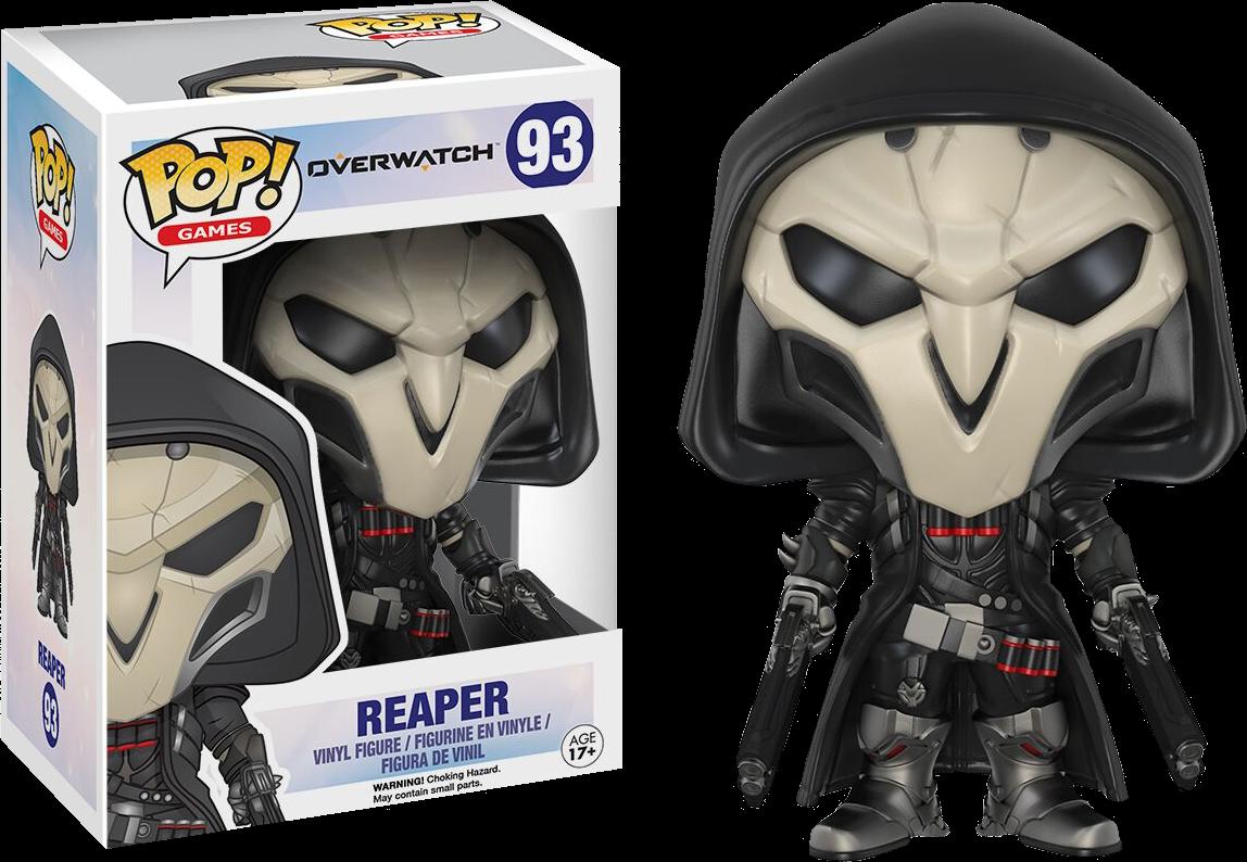 PRE-ORDER POP Games: Overwatch - Reaper