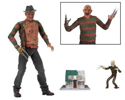 PRE-ORDER Nightmare On Elm Street Part 3 Ultimate Freddy Krueger Figure