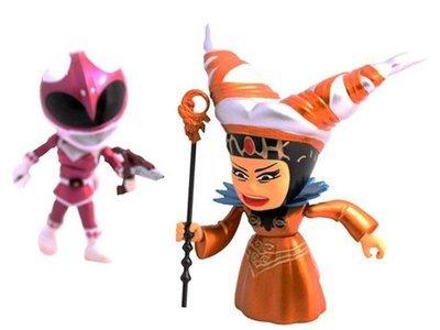 Power Rangers Pink Ranger With Rita (Metallic) Mini Figures SDCC 2015 Exclusive