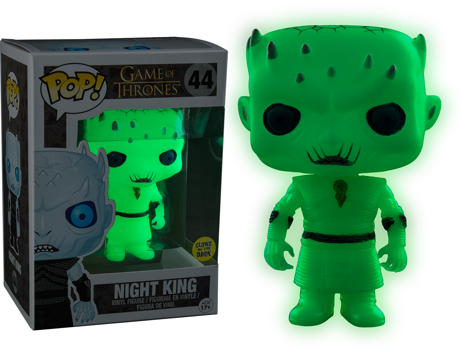 PRE-ORDER Exclusive Game of Thrones - Night King Glow in the Dark Pop! Vinyl Figure