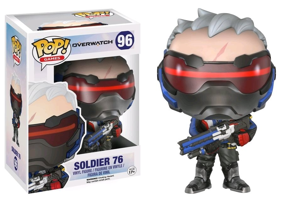 PRE-ORDER Exclusive Overwatch - Soldier: 76 Pop! Vinyl