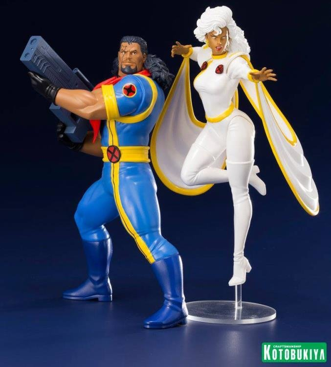 PRE-ORDER X-Men '92 ArtFX+ Bishop & Storm Statue Two-Pack