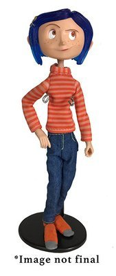 PRE-ORDER Coraline Action Figure Shirt and jeans