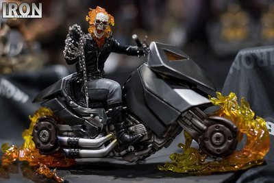 PRE-ORDER Ghost Rider Marvel Comics  1/10 Art Scale Deluxe Exclusive