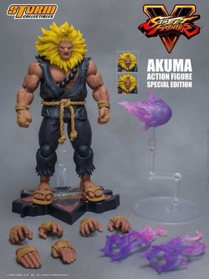 PRE-ORDER Street Fighter V Akuma (Special Edition) 1/12 Scale Figure