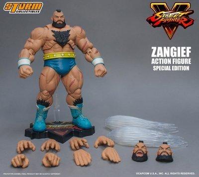 PRE-ORDER Street Fighter V Zangief (Special Edition) 1/12 Scale Figure