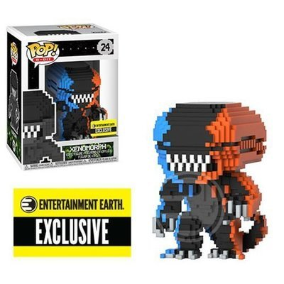 8-Bit : Alien Video Game Deco Xenomorph Pop Vinyl Figure
