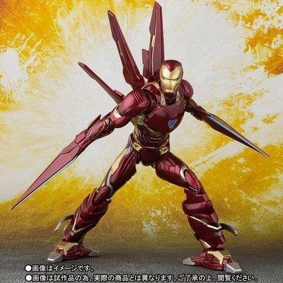 PRE-ORDER S.H.Figuarts IRON MAN MK-50 Nano-Weapon SET (Avengers: Infinity War) Action Figure