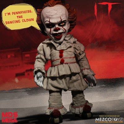 PRE-ORDER IT (2017): Mega Scale Talking Pennywise