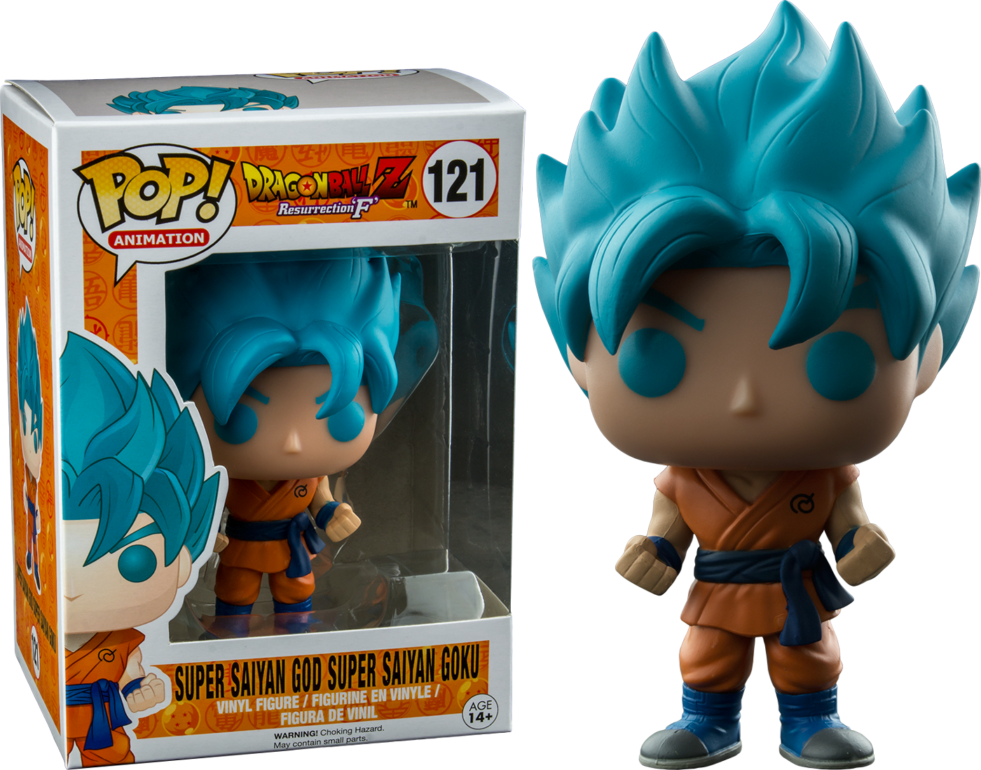 PRE-ORDER Exclusive Dragon Ball Z - Super Saiyan God Super Saiyan Goku Pop! Vinyl Figure