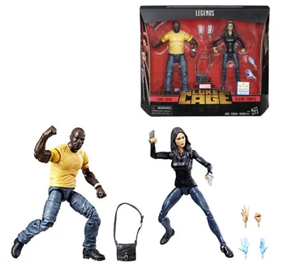 PRE-ORDER Exclusive Marvel Legends Series 6-inch Luke Cage and Claire Temple 6-Inch Action Figure 2-Pack