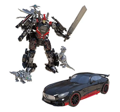 PRE-ORDER Exclusive Transformers Studio Series Deluxe Drift with Baby Dinobots Sharp-T, Pterry, and Tops