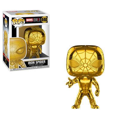PRE-ORDER POP Marvel: MS 10 - Spider-man (Chrome)