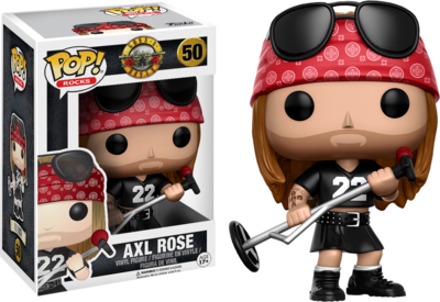 PRE-ORDER Guns n Roses - Axl Rose Pop! Vinyl Figure (3rd Batch)