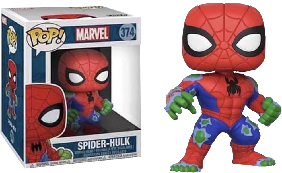 "PRE-ORDER Exclusive Spider-Man - Spider-Hulk 6"" Super Sized Pop! Vinyl Figure"
