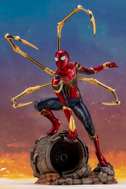 PRE-ORDER Iron Spider Infinity War Movie ArtFX+ Statue
