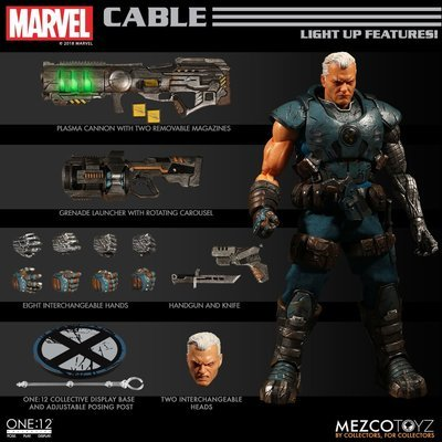 PRE-ORDER X-Men Cable One:12 Collective Action Figure