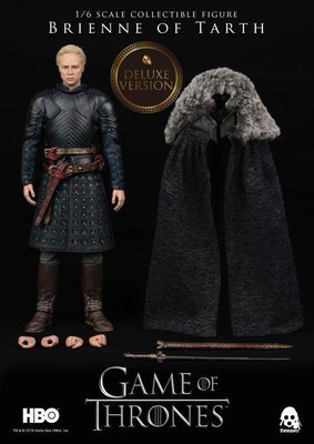 PRE-ORDER Game of Thrones Brienne of Tarth 1/6th Scale Deluxe Collectible Figure