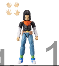 PRE-ORDER Dragonball Series 5 Android 17