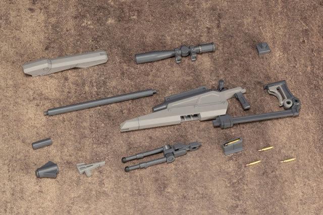 PRE-ORDER Weapon Unit09 New Sniper Rifle Plastic Model Kit