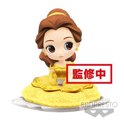 PRE-ORDER Q Posket Sugirly DIsney Character Belle Normal Color Ver.