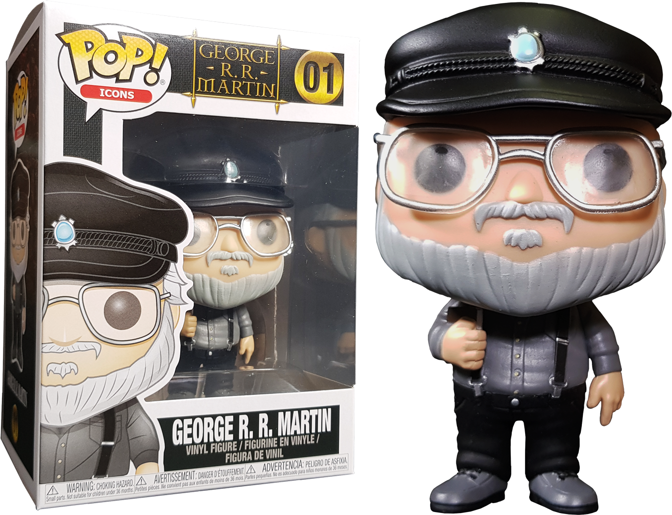 PRE-ORDER Exclusive George R.R. Martin - George R.R. Martin Pop! Vinyl Figure 2nd Batch