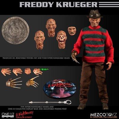 PRE-ORDER One : 12 Collective Freddy Kreuger