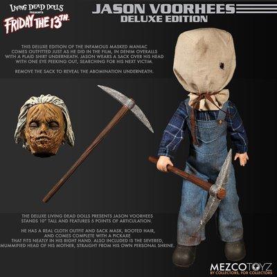 PRE-ORDER Living Dead Dolls Jason Voorhees DX ver.