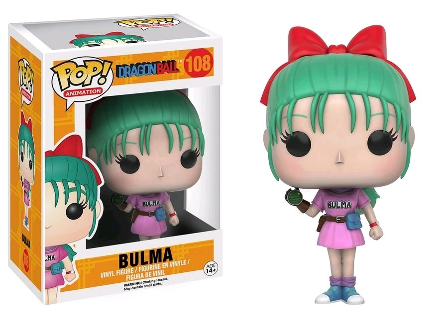 PRE-ORDER Dragon Ball - Bulma Pop! Vinyl (2nd batch)