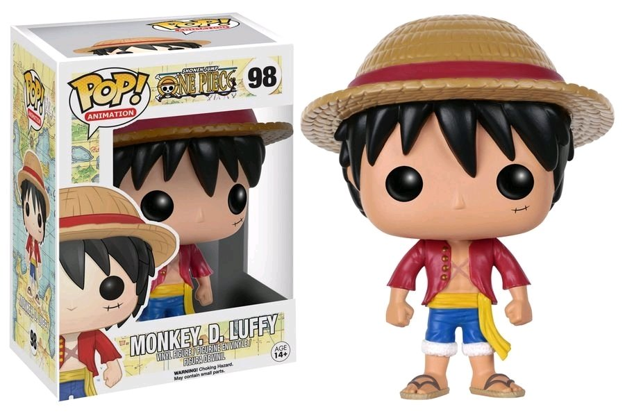 PRE-ORDER One Piece - Luffy Pop! Vinyl (2nd batch)