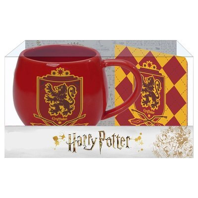 PRE-ORDER Ohapt mug with Coaster Red Gryffindor